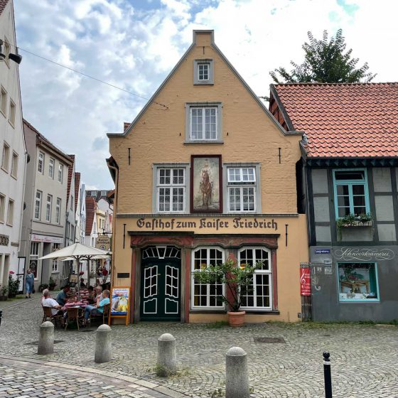 Aussenbild Gasthof zum Kaiser Friedrich