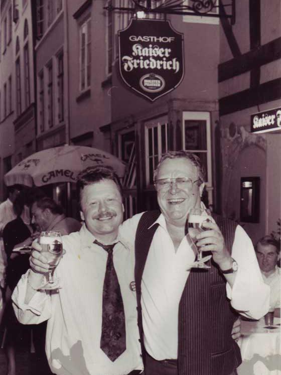 Uwe Richter und Lothar